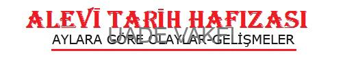 ALEVİ TARİH HAFIZASI